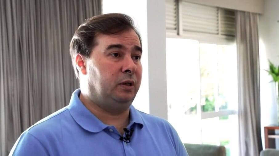 Deputado federal e ex-presidente da Câmara, Rodrigo Maia