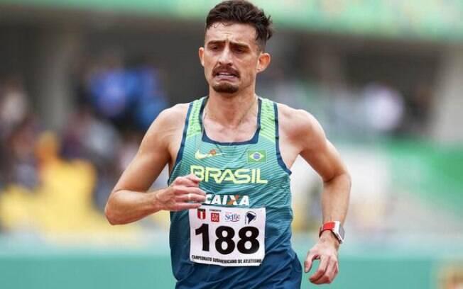 Ederson Pereira, campeão da Volta Internacional da Pampulha e ouro nos 10 mil nos Jogos Pan-Americanos de Lima