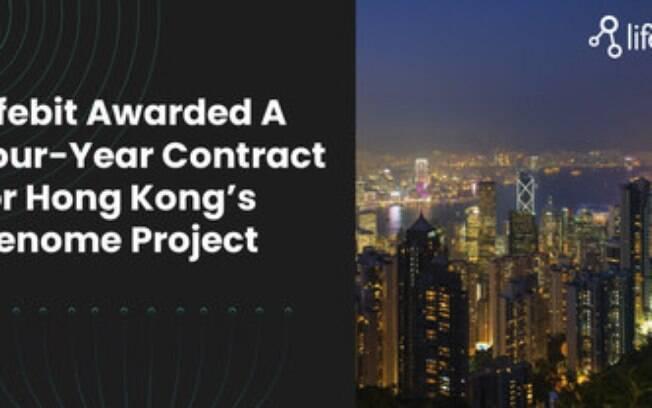 Lifebit obtém contrato de quatro anos para o projeto genoma de Hong Kong