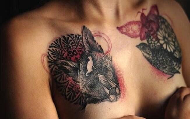 Tatuagens são uma das maneiras de ressignificar e trazer personalidade às cicatrizes