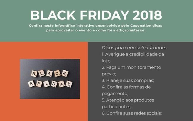 Infográfico mostra dicas de como aproveitar a Black Friday