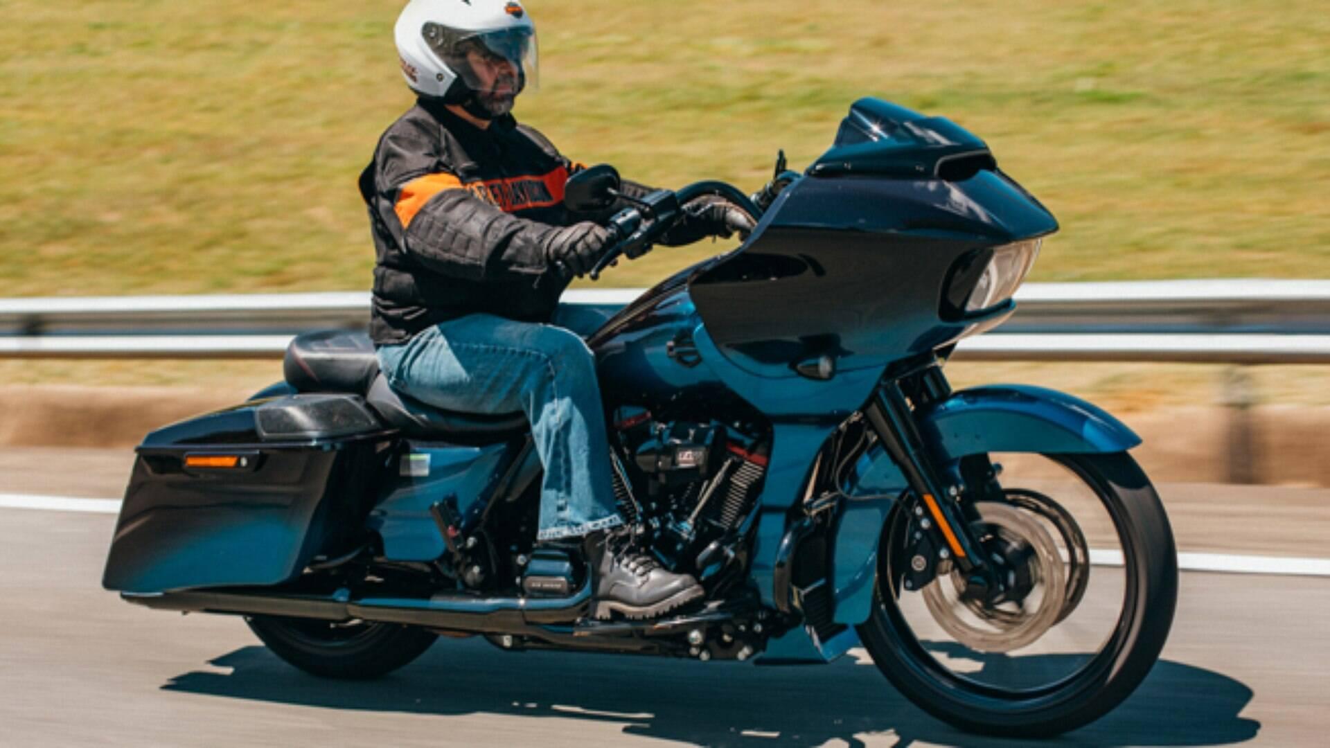 Harley Davidson Cvo Road Glide Cultura Da Motocicleta Ig