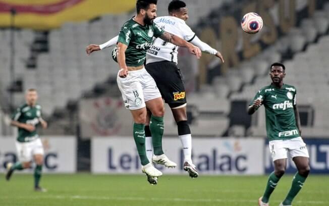 Lances de Corinthians e Palmeiras