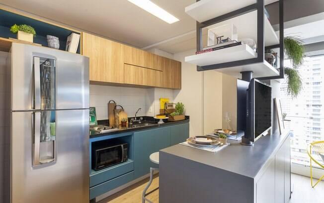 Os móveis planejados para cozinha ajudam a ter uma boa circulação e, além disso, contribuem com a funcionalidade