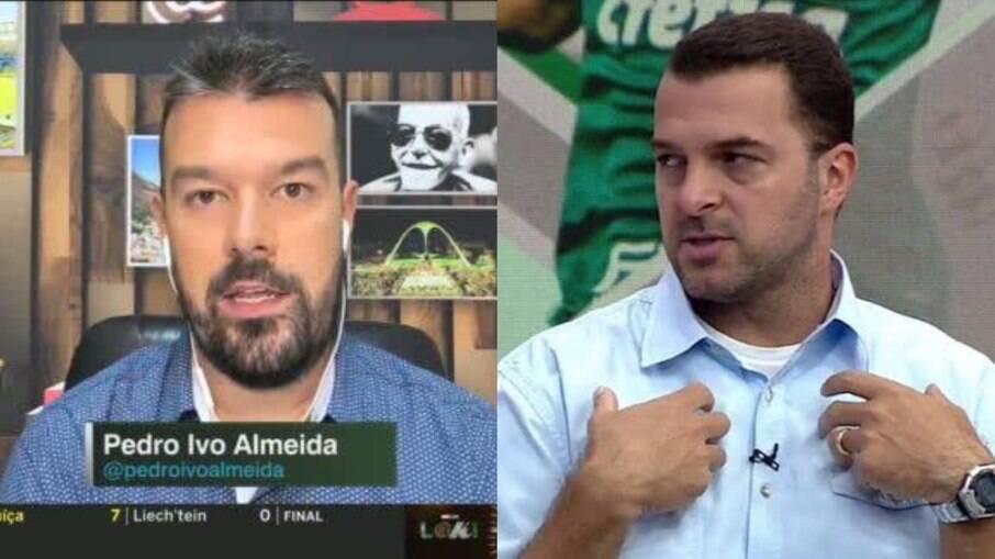 Zé Elias e Pedro Ivo discutem em estreia de programa da ESPN