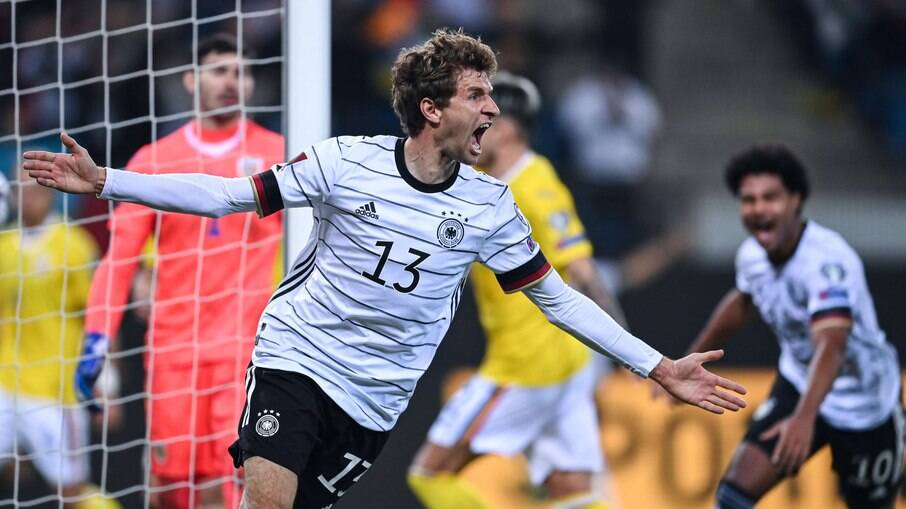 Thomas Muller fez o gol da vitória da seleção alemã