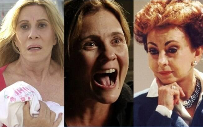 Nazaré Tedesco, Carminha e Odete Roitman estão entre as vilãs que marcaram a teledramaturgia brasileira