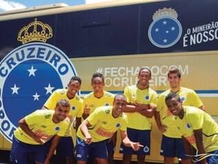 Bem na fita. Jogadores da base do Cruzeiro estão em alta e vêm ganhando chances no time principal