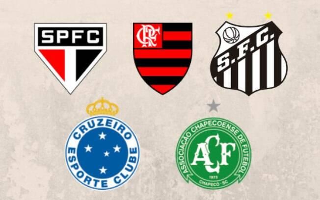 Os times que nunca foram rebaixados no Brasil