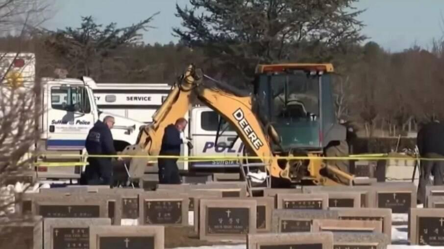 O caso aconteceu na manhã da última quinta-feira (25), no Washington Memorial Park, em Long Island, Nova York, nos Estados Unidos