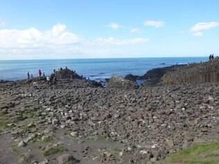 Giants Causeway (Calcada dos Gigantes), Irlanda do Norte - Foto Andrea Juste