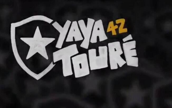 Vaza vídeo que estava pronto para anúncio de Yaya Touré no Botafogo