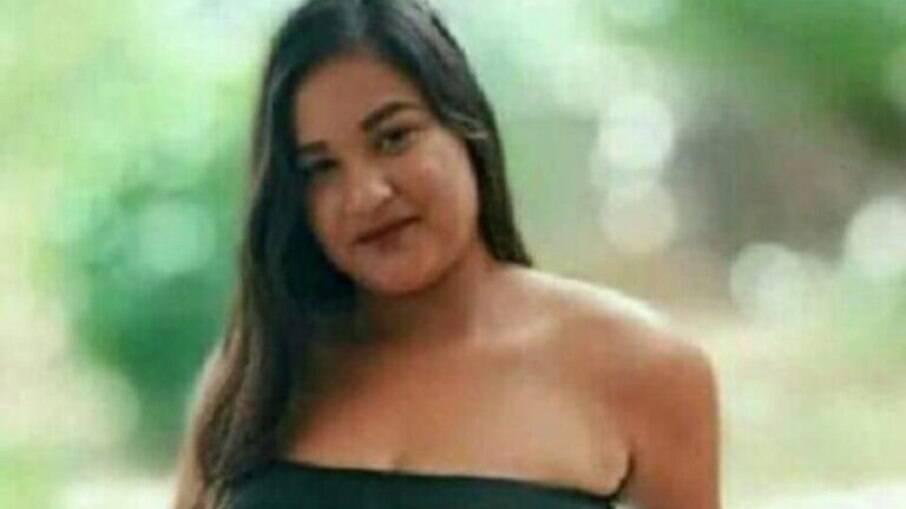 A adolescente Thamires da Conceição Silva