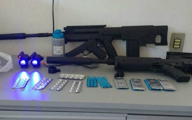Idosa disse à polícia que armas eram