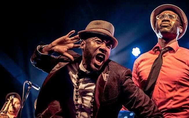 Vox Sambou faz shows no  Brasil