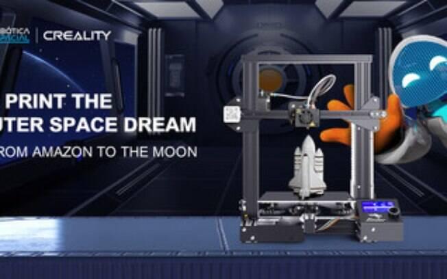 Creality participa da coletiva de imprensa do projeto Robótica Espacial