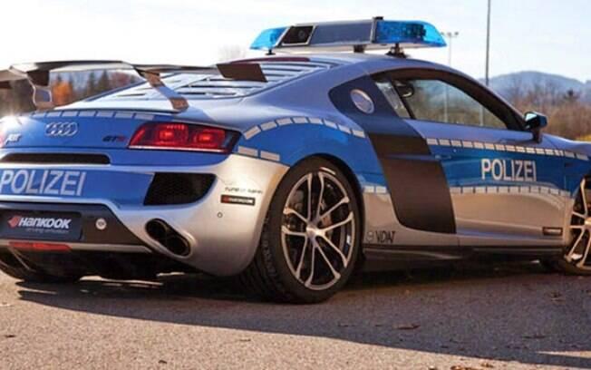 Super Carros da Polícia - Audi R8 GTR