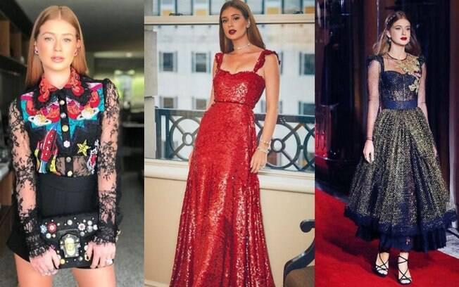 As celebridades mais fashion da televisão