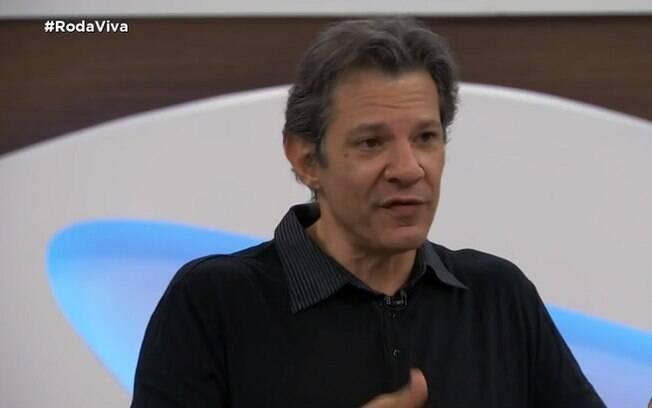 Fernando Haddad, ex-presidente de São Paulo