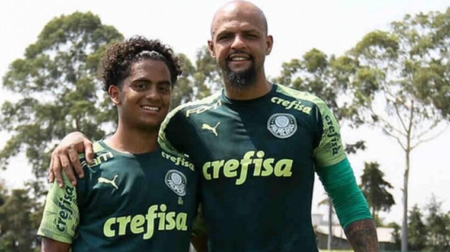 Felipe Melo e o Filho