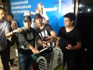 Cárdenas chegou a Belo Horizonte na manhã desta quinta-feira