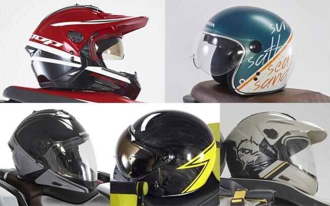 capacetes Honda