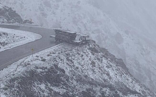 Caminhão com placa de Caxias do Sul foi resgatado pelos policiais chilenos