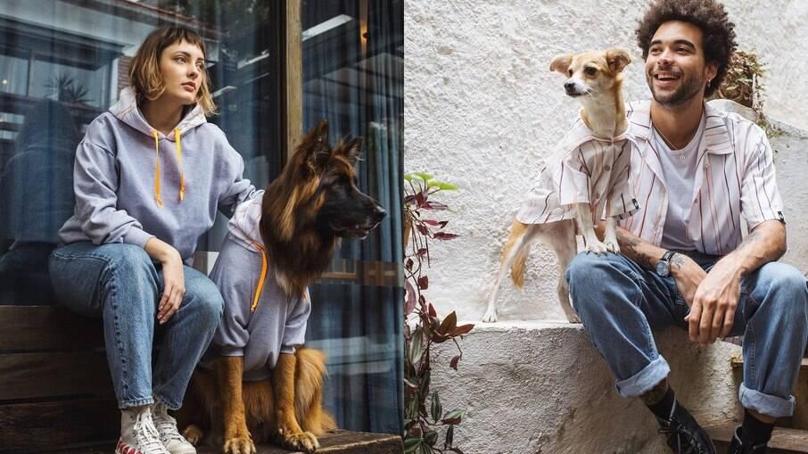 Marcas lançam coleção para fortalecer ainda mais os laços entre pets e tutores