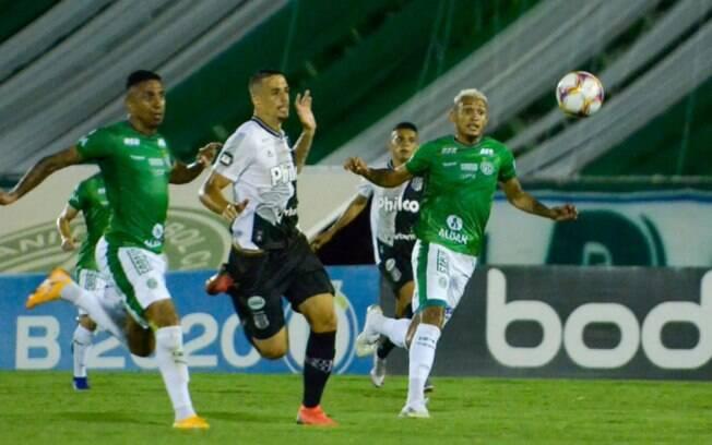 Guarani e Ponte não saíram do empate.