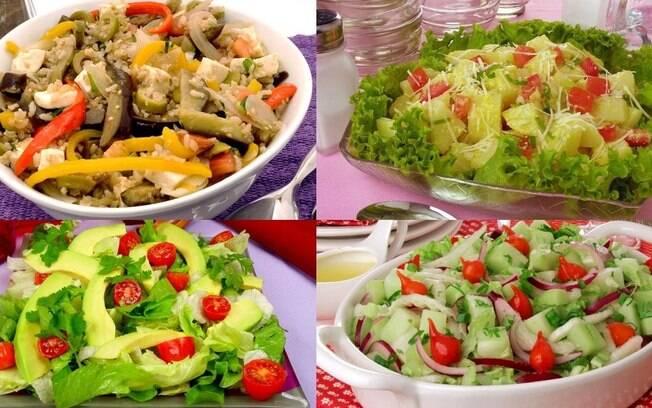 Segunda sem carne: 5 saladas especiais para a janta