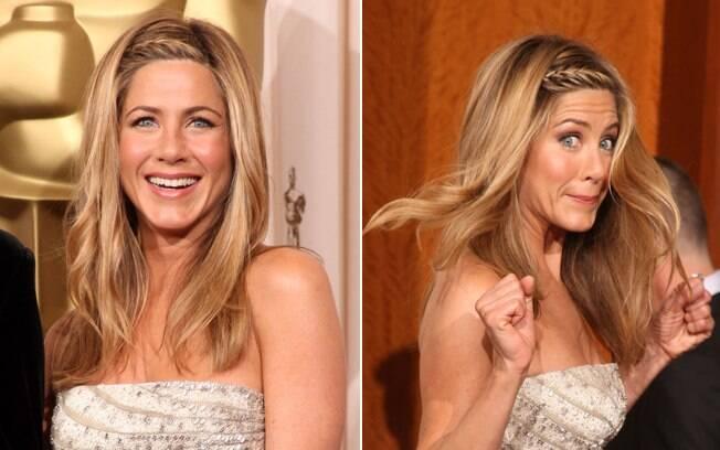 A trancinha embutida na franja, como a de Jennifer Aniston, é descontraída, tem carinha de verão