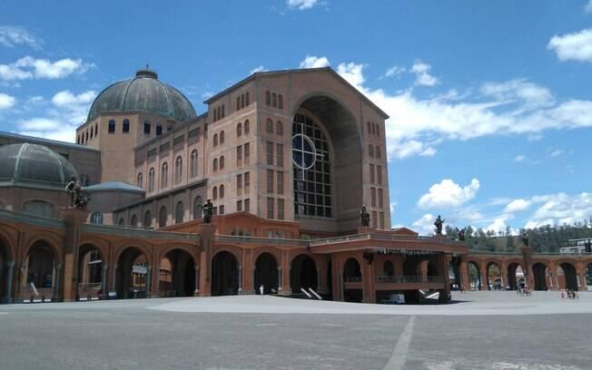 Foto da Basílica de Nossa Senhora Aparecida