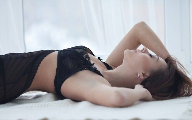 Use uma lingerie sensual que te deixe a vontade