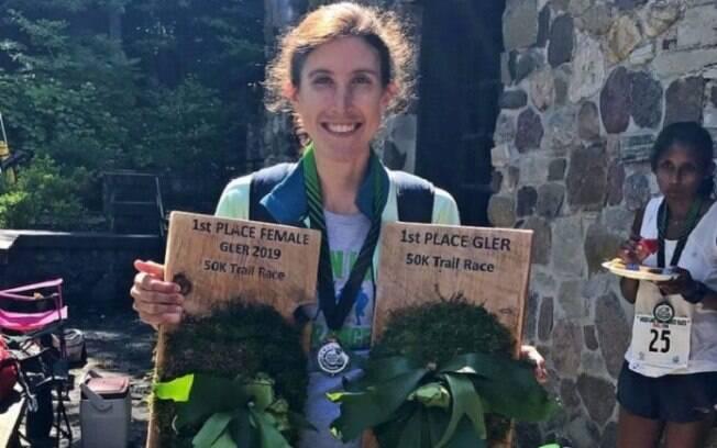 Ellie Pell surpreendeu e venceu a ultramaratona