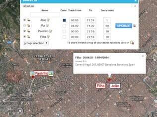 Rastreador WhereAreYouGPS avisa pais sobre o paradeiro das crianças. Disponível para Android, gratuito, mas com algumas funcionalidades pagas