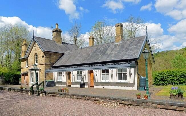 A estação de trem de Shropshire, na Inglaterra, funcionou por 101 anos e foi fechada em 1963