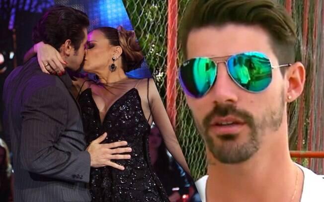 Radamés comentou o beijo final de Viviane na dança de tango: