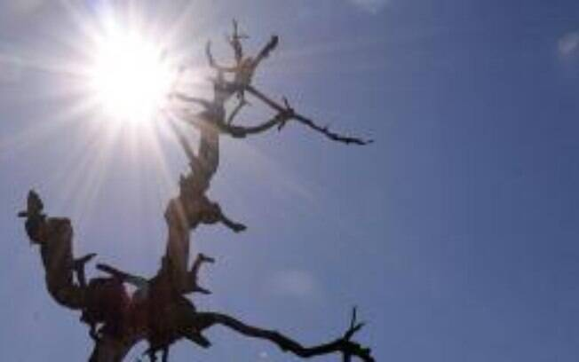 O alerta do Inmet para o excesso de calor e seca vale até terça-feira