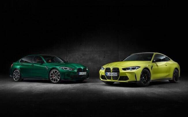 BMW M3 e M4: nova geração dos esportivos da marca alemã chega com altas doses de tecnologia e desempenho