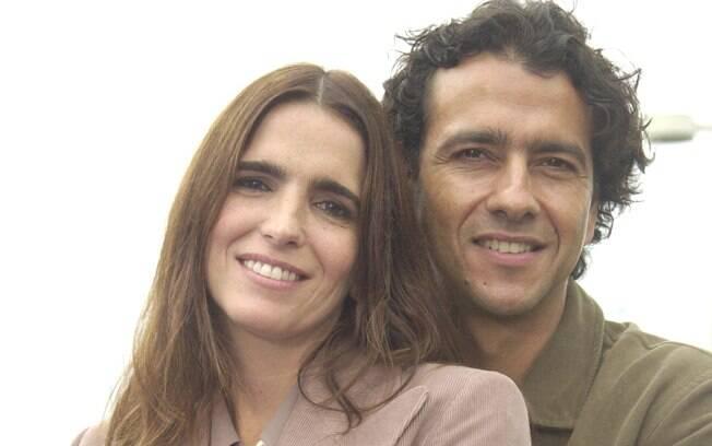 Maria Clara (Malu Mader) era amante de Fernando (Marcos Palmeira) em