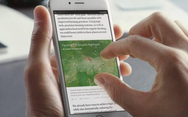 Facebook lança Instant Articles, ferramenta para produtores de conteúdo criarem e publicarem textos dentro da rede social