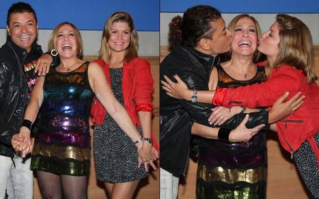 David Brazil, Susana Vieira e Bárbara Borges