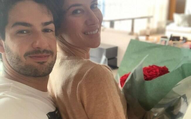 Alexandre Pato e Rebeca Abravanel