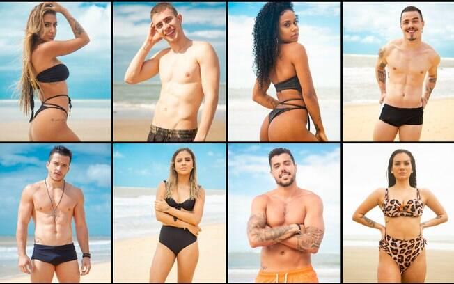 participantes, de férias com o ex, musas, musos, biquini, sem camisa