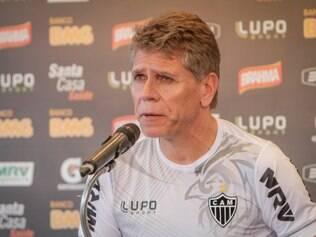 O comandante Paulo Autuori pensa em escalar titulares no próximo jogo, contra a Caldense, no Independência