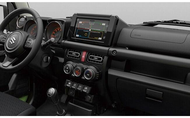 Interior pode ter ar-condicionado digital e tela sensível ao toque do sistema multimídia, entre outros itens