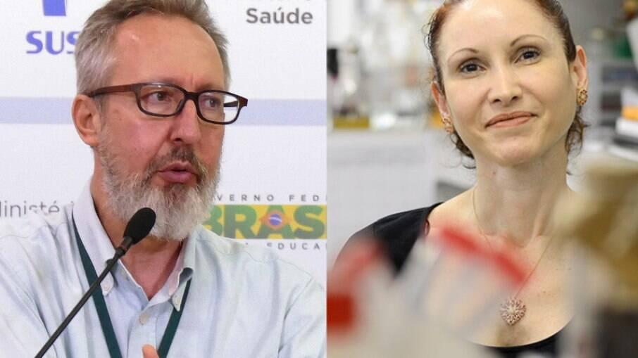 Natalia Pasternak e Cláudio Maierovitch falarão sobre a pandemia aos senadores membros da comissão parlamentar de inquérito