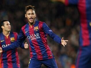Neymar ajudou o Barcelona a superar o PSG por 3 a 1