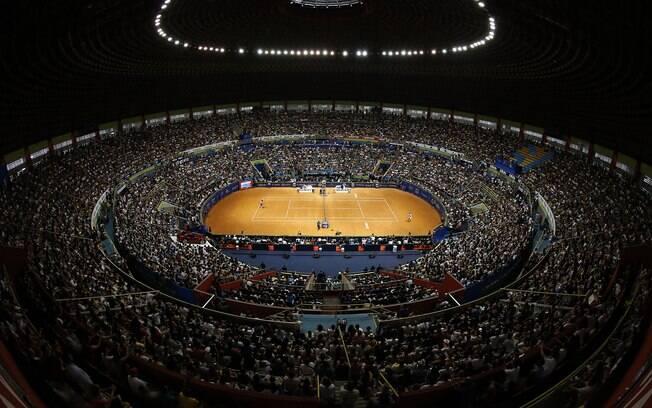 Mais de 57 mil pessoas compareceram ao  Ibirapuera durante o Brasil Open