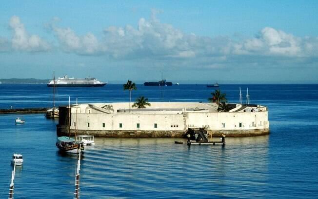 Forte São Marcelo, em Salvador, já funcionou como presídio